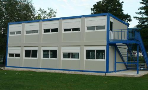 Prefabrik Eğitim Binaları